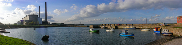 Power Station (no longer there) and Harbour, Cockenzie