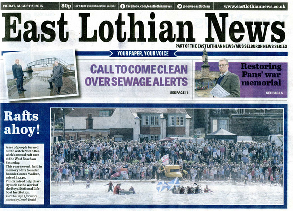 East Lothian News (21 August 2015)