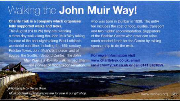 Scottish Seabird Centre Newsletter (April 2012)